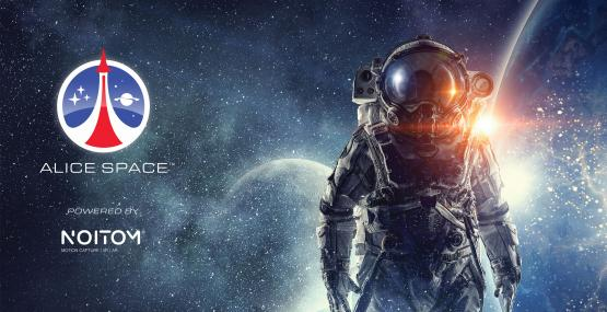 Alice Space virtual reality and mixed reality NASA space experience by Noitom.