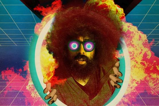 Comedian Reggie Watts performs live in VR with motion capture by Noitom.