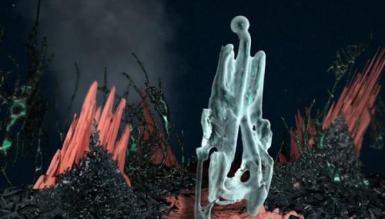 Artist Shira Shavron creates a digital ocean environment using Perception Neuron motion capture.