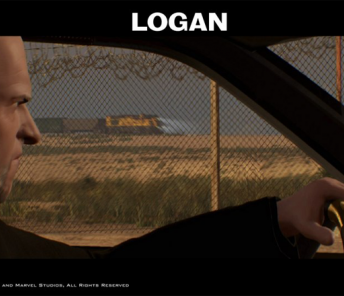 Previz shot of special effects made with Perception Neuron motion capture in 20th Century Fox's Logan.